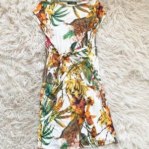 My Bump Maternity Dress Floral Tropical